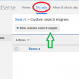 These steps will use google adsense method for adding a search box to your site. If you don't want to use google search on your site you will have to […]